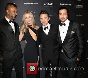 Ronnie Madra, Elle Evans, Matthew Bellamy and Guest