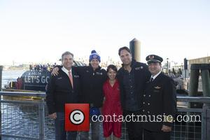 Chuck Imhof, Jim Breuer, Yuko, Mike Piazza and Lawrence Rehr