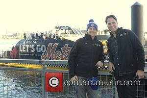Jim Breuer and Mike Piazza
