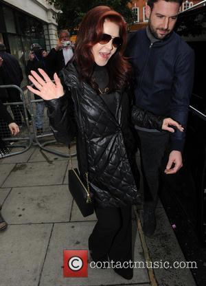 Priscilla Presley - Priscilla Presley seen out in London at BBC Radio Two Studios. - London, United Kingdom - Friday...
