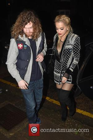 Rita Ora - Rita Ora is seen leaving Chiltern Firehouse in Marylebone at 4.30am with a mystery male companion -...