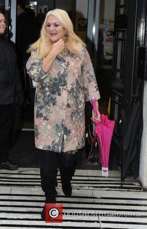 Vanessa Feltz - Vanessa Feltz seen out and about in London - London, United Kingdom - Friday 30th October 2015