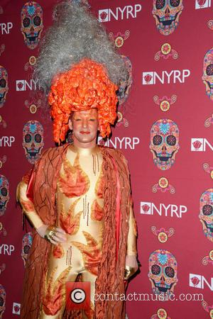 Jon Recor - Bette Midler's annual 'Hulaween' party, celebrating New York Restoration Project's 20th anniversary - Manhattan, New York, United...