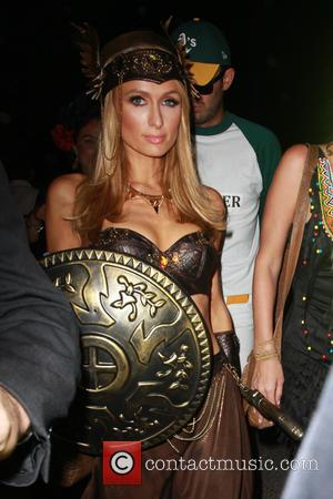 Paris Hilton - Celebrities attend the Casamigos Tequila Halloween Party in Beverly Hills - Los Angeles, California, United States -...