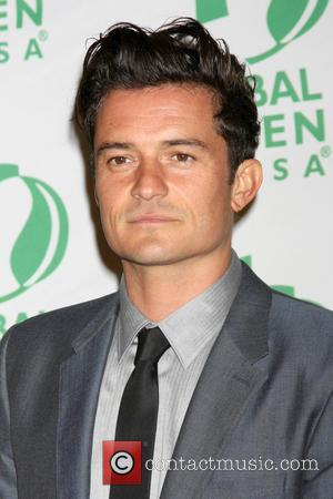 Orlando Bloom - Global Green hosts 'ARCTICA' book launch at Four Seasons Hotel Los Angeles at Beverly Hills - Arrivals...