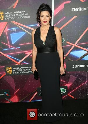 Shohreh Aghdashloo - Celebrities attend 2015 Jaguar Land Rover British Academy Britannia Awards Presented by American Airlines at The Beverly...