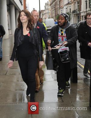 Nigella Lawson - Nigella Lawson outside the BBC Radio 1 studios - London, United Kingdom - Friday 30th October 2015