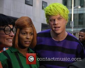 Tamron Hall , Willie Geist - Halloween 2015: Good grief! The 'TODAY' show gang goes 'Peanuts' at the Rockefeller Plaza...