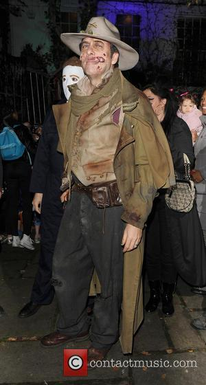 Jonathan Ross - Celebrities attend the annual Jonathan Ross Halloween Party, held at his home in Hampstead - London, United...