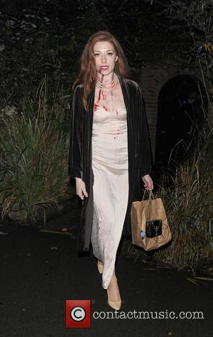 Nicola Roberts - Celebrities attend the annual Jonathan Ross Halloween Party, held at his home in Hampstead - London, United...