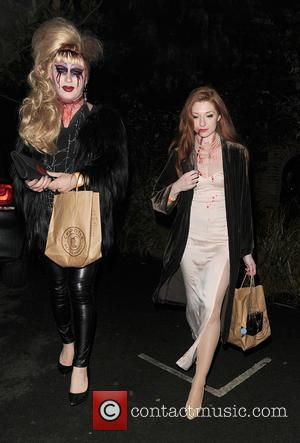 Jodie Harsh , Nicola Roberts - Celebrities attend the annual Jonathan Ross Halloween Party, held at his home in Hampstead...