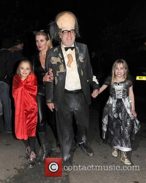 Vic Reeves , Nancy Sorrell - Celebrities attend the annual Jonathan Ross Halloween Party, held at his home in Hampstead...