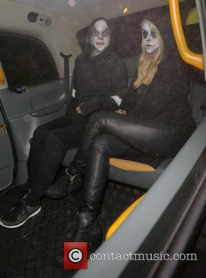 Holly Willoughby , Dan Baldwin - Celebrities attend the annual Jonathan Ross Halloween Party, held at his home in Hampstead...