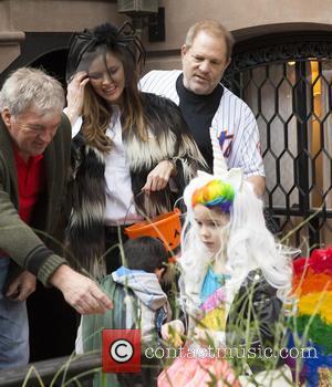 Georgina Chapman , Harvey Weinstei - Liv Tyler's Halloween Party - New York, United States - Saturday 31st October 2015