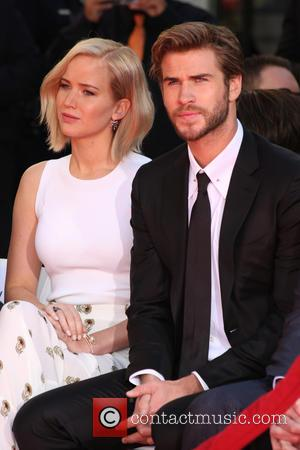 Jennifer Lawrence, Liam Hemsworth and Guests