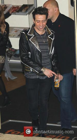 Nick Grimshaw - 'X Factor' judges and contestants leave the Fountain Studios after the first live show at x factor...
