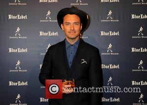 Jude Law - Jude Law celebrates the joy of giving at the global premiere of the Johnnie Walker Blue Label...