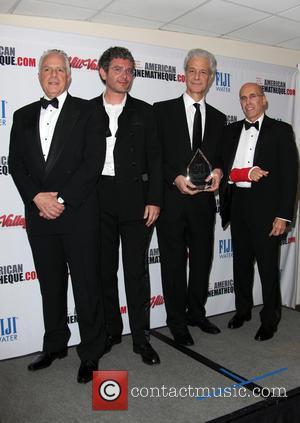 Eric Nebot, Paula Wagner and Jeffrey Katzenberg