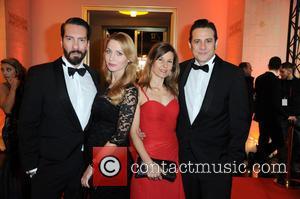 The Bosshoss, Alec Voelkel, Johanna Michels, Girlfriend Jenny and Sascha Vollmer