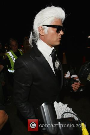 Josh Duhamel - Fergie and Josh Duhamel seen arriving at the Casamigos Tequila Halloween Party at Casamigos Halloween Party -...
