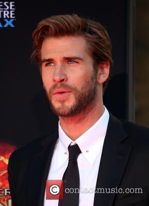 Liam Hemsworth - 'The Hunger Games: Mockingjay, Part 2' cast hand and footprint ceremony at TCL Chinese Theater - Hollywood,...