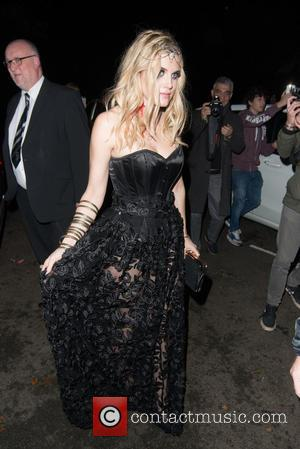 Ashley James - Jonathan Ross's annual Halloween party - London, United Kingdom - Saturday 31st October 2015