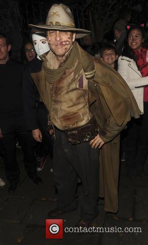 Jonathan Ross - Jonathan Ross's annual Halloween party - London, United Kingdom - Saturday 31st October 2015