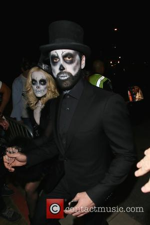 Maksim Chmerkovskiy , Peta Murgatroyd - Maksim Chmerkovskiy and Peta Murgatroyd seen arriving at the Casamigos Tequila Halloween Party at...