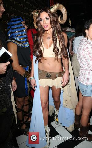 Krista Allen - VO|CO presents Alessandra Ambrosio's Heaven and Hell Halloween party at 1OAK - West Hollywood, California, United States...