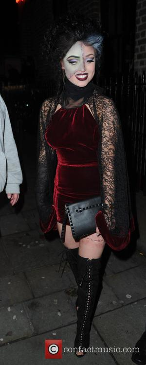 jorgie Porter - Hollyoaks Haloween Party at Brooklyn Mixer - Liverpool, United Kingdom - Saturday 31st October 2015