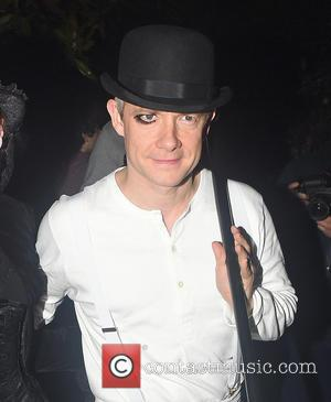 Martin freeman - Jonathan Ross' Annual Halloween Party  - Arrivals - London, United Kingdom - Saturday 31st October 2015
