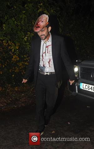 Dynamo - Jonathan Ross' Annual Halloween Party  - Arrivals - London, United Kingdom - Saturday 31st October 2015