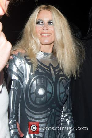 Claudia Schiffer - Jonathan Ross's annual Halloween party - London, United Kingdom - Saturday 31st October 2015