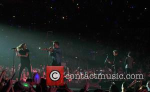 One Direction, 1 Direction , 1D - One Direction play their final gig at the Motorpoint Arena Sheffield before their...