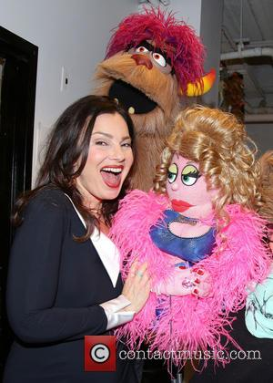 Fran Drescher, Trekkie Monster , Lucy The Slut - Fran Drescher caps off Breast Cancer Awareness month with a special...