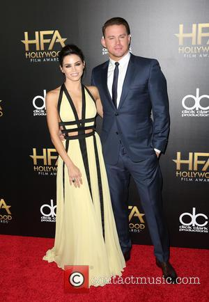 Jenna Dewan Tatum , Channing Tatum - 19th Annual Hollywood Film Awards at The Beverly Hilton Hotel at The Beverly...