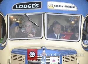 chris evans - Bonhams London to Brighton Veteran Car Run 2015 - London, United Kingdom - Sunday 1st November 2015