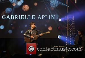 Gabrielle Aplin - Oxford Street Christmas lights switch on at Oxford St, London. - London, United Kingdom - Sunday 1st...