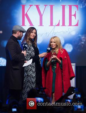 Dave Berry, Lisa Snowdon and Kylie Minogue