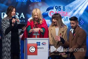Lisa Snowdon, Kylie Minogue and Louisa Rose Allen