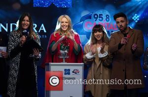 Lisa Snowdon, Kylie Minogue, Louisa Rose Allen and Ben Haenow