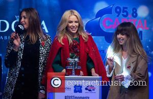 Lisa Snowdon, Kylie Minogue and Louise Rose Allen