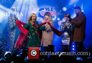Lisa Snowdon, Kylie Minogue, Louisa Rose Allen, Gabrielle Aplin and Ben Haenow