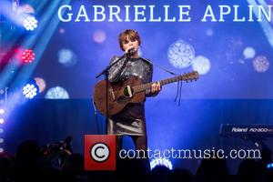 Gabrielle Aplin - Oxford Street Christmas Lights switch on. - London, United Kingdom - Sunday 1st November 2015