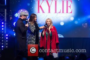 Kylie Minouge, Dave Berry and Lisa Snowdon