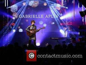Gabrielle Aplin - Christmas lights switch-on, Oxford Street - London, United Kingdom - Sunday 1st November 2015