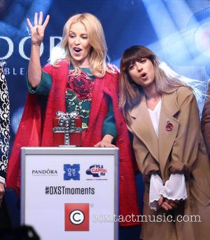 Kylie Minogue and Foxes
