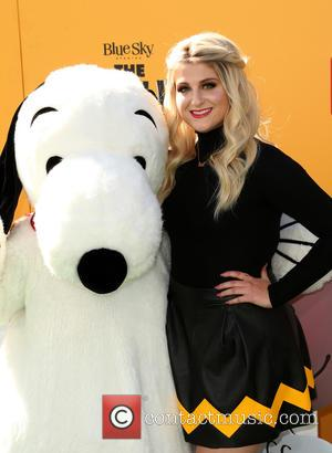 Meghan Trainor - the premiere of THE PEANUTS MOVIE at Regency Village and Bruin Theaters - Westwood, California, United States...