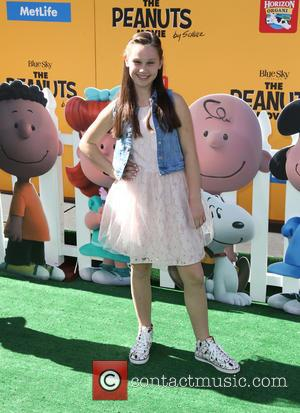 Anastasia Bredikhina - the premiere of THE PEANUTS MOVIE at Regency Village and Bruin Theaters - Westwood, California, United States...