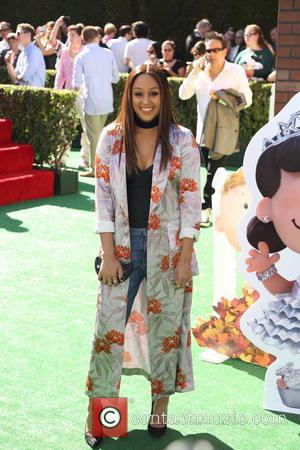 Tia Mowry - Premiere of 'The Peanuts Movie' - Arrivals - Los Angeles, California, United States - Sunday 1st November...